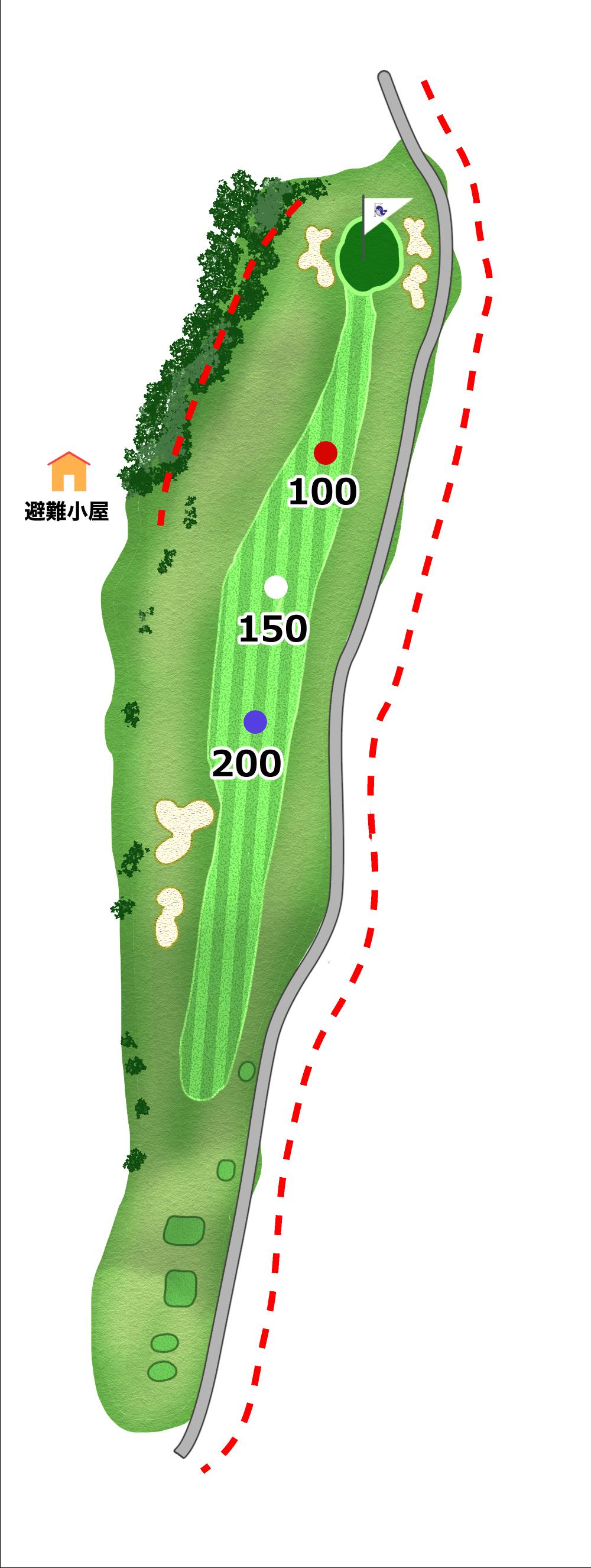 太平洋コース 1H